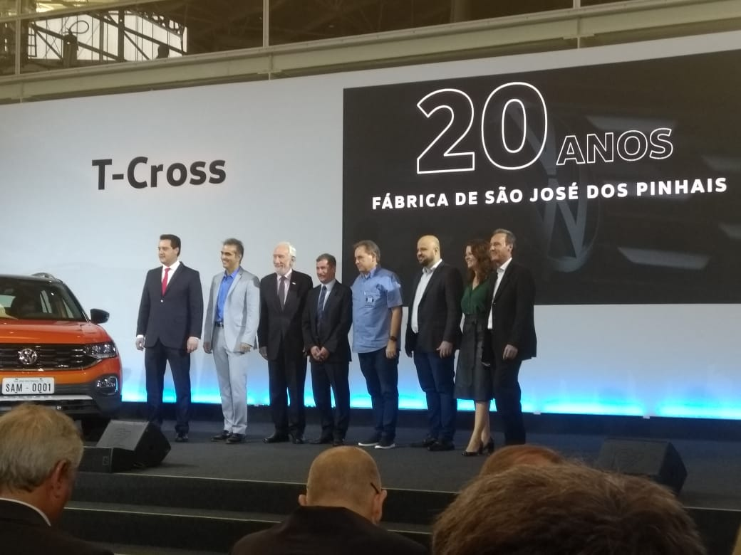 SMC participa do lançamento oficial do T-Cross